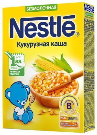 Нестле каша мол.кукурузная 200.0