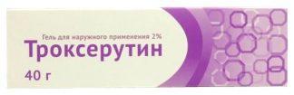 Троксерутин Ветпром гель 2%-40 гр.