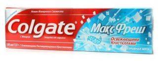 Зуб.паста Colgate Max Fresh Clean Mint 100 мл