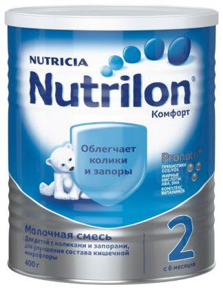 Нутрилон 2 400 гр.сух.мол.смесь комфорт