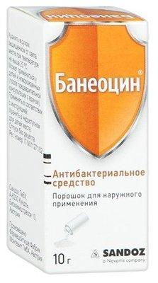 Банеоцин 10 гр.пор.