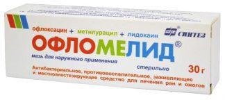Офломелид 30.0 мазь