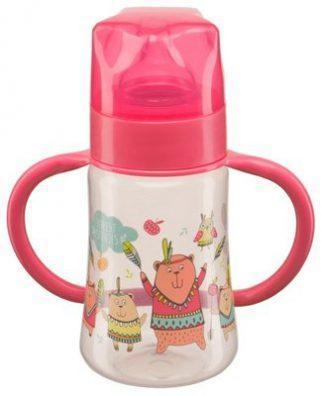 Бутылка детс.пласт.250мл с соск.470069 беби нова