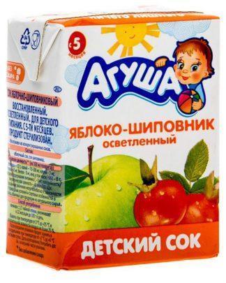 "Сок ""Агуша"" 200 мл яблоко-шиповник"