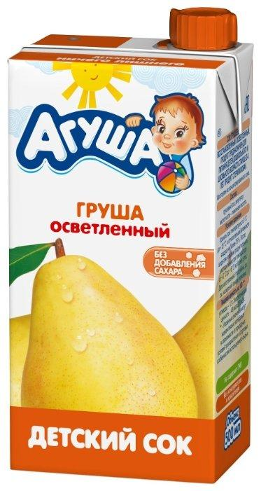 """Сок """"Агуша"""" 500 мл груша осветленный"""