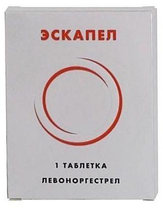 Эскапел 1,5 мг №1 табл.