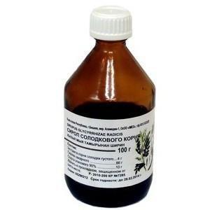 Солодка сироп 100.0
