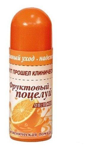 Помада гигиеническая фрукт.поцелуй 3,5 апельсин