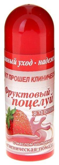 Помада гигиеническая фрукт.поцелуй 3,5 земляника