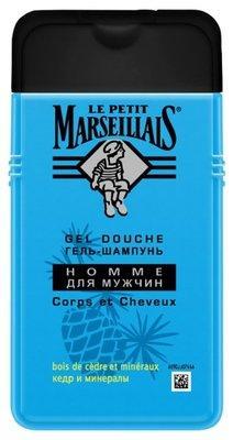 Гель-шампунь д/мужчин Le Petit Marseillais 250мл