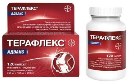 Терафлекс №120 (эффект.леч.суставов)