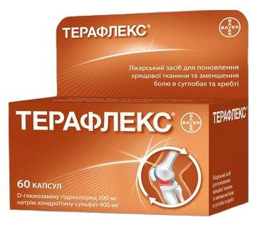 Терафлекс №60 (эффект.леч.суставов)