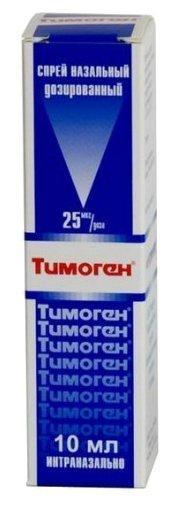Тимоген 25мкг/доза 10 мл спрей