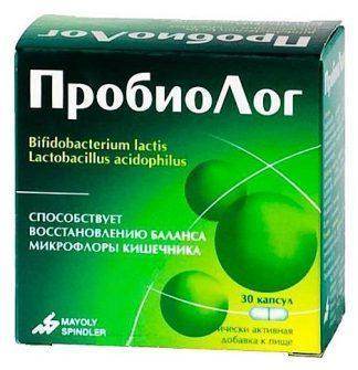 Пробиолог форте 227 мг №30 капс.