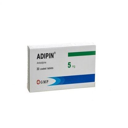 Адипин 5 мг №30 таблетки